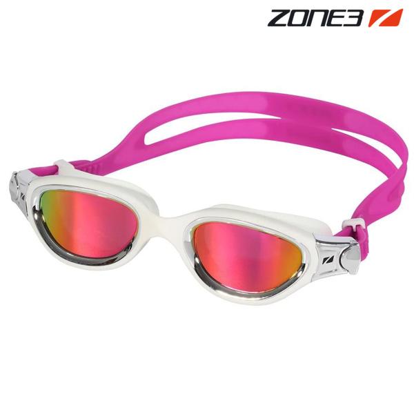 ZONE3 VENATOR-X 오픈워터 편광렌즈 WHT-SIL 수경