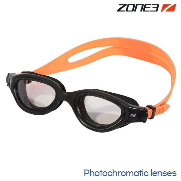 ZONE3 VENATOR-X 오픈워터 변색렌즈 BLK-N.ORG 수경