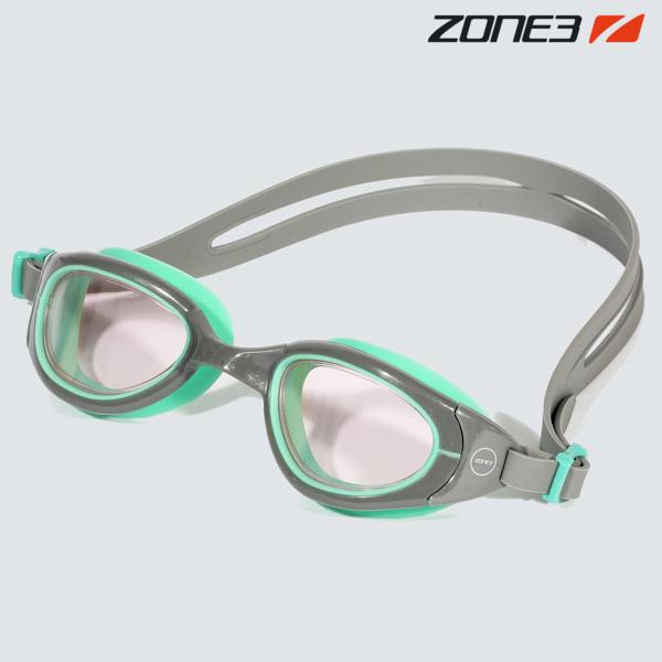 ZONE3 ATTACK 오픈워터 노미러렌즈 GRY-GRN 수경