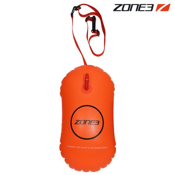 ZONE3 SAFETY BUOY TOW FLOAT 28L NEON ORANGE 안전부이