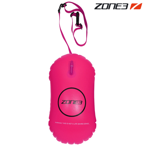 ZONE3 SAFETY BUOY TOW FLOAT 28L NEON PINK 안전부이