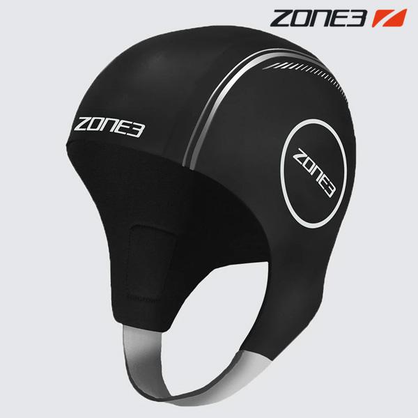 ZONE3 NEOPRENE CAP BLK-REFLECTIVE SVR 철인3종 후드