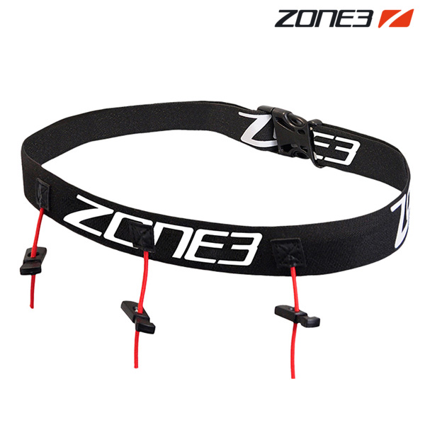 ZONE3 레이스 벨트 BLACK-WHITE 존3 RACE BELT