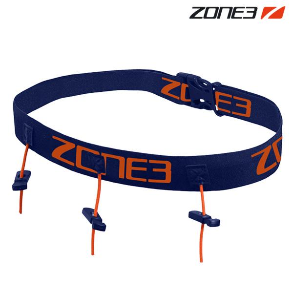 ZONE3 레이스 벨트 NAVY-ORANGE 존3 RACE BELT