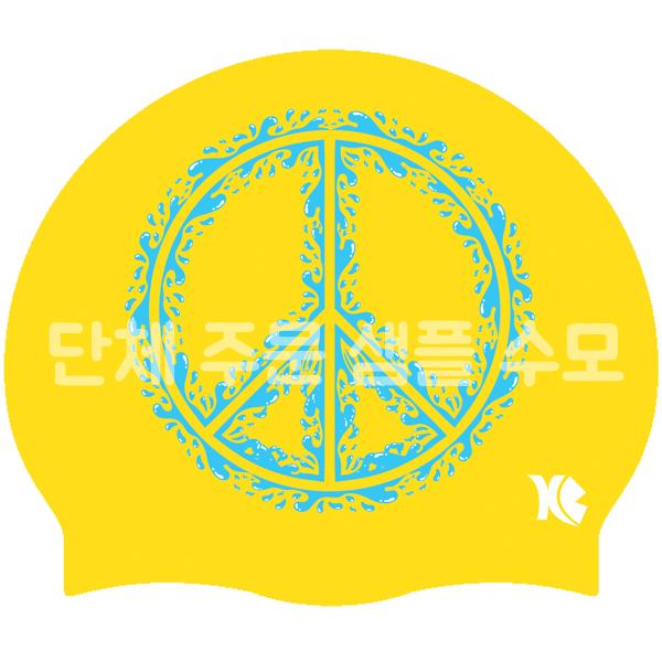 [단체주문샘플수모 No.22] 주문가능- PEACE 평화